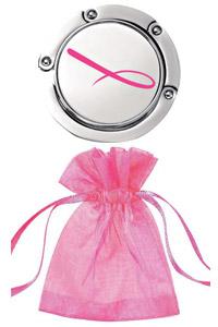 """Держатель для сумки  """"Розовая ленточка """".  Эксклюзивная продукция."""